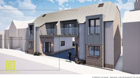 An application for the demolition of 1 Brook Dam Lane, Soham, and its replacement with two blocks and a total of nine...