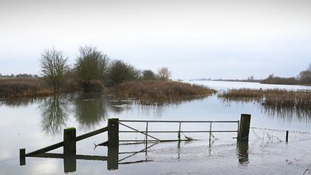 Would dredging the tidal Ouse help reduce flooding at Welney? Picture: Ian Burt