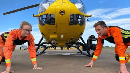 The East Anglian Air Ambulance won the workplace of the year award. Picture: ATHENE COMMUNICATIONS