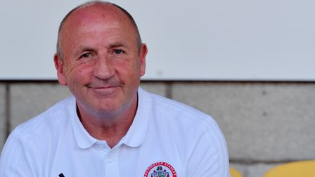 Accrington Stanley manager John Colemanduring the Sky Bet League One match at the Wham Stadium, Accr