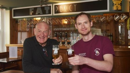 Father and Son duo Colin and Will Keatley have opened their fourth pub - the Fat Percy on Adelaide Street, Norwich.