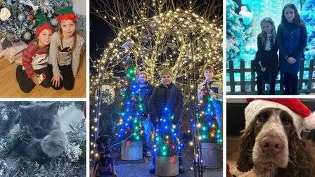 Residents in Dereham have shared pictures of their family, pets and homes ahead of the festive season