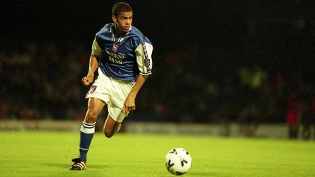 Kieron Dyer started his impressive career at Town - and still loves the club Picture: ARCHANT