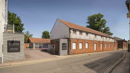 The outside of the Maltings car park as it looks now Picture:Curry-Hyde LLP