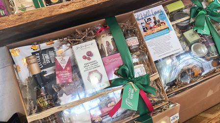 The team at Suffolk Food Hall will create a unique hamper to your requirements - they'llwrap-it too Picture: Suffolk...