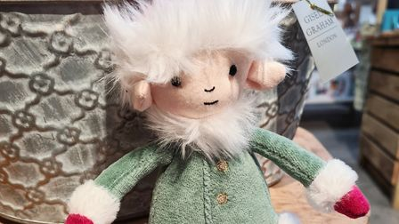 Leffy Elf is one of a range ofJellycat soft toys available at Suffolk Food Hall Picture: Suffolk Food Hall