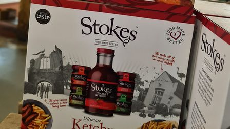 This selection of Stokes' ketchup is a perfect gift, but will it end up on the Christmas dinner? Picture: Suffolk Food Hall