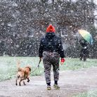 People have been urged to take care walking on pavements after the Met Office issued a warning for ice in East Anglia Pictur...