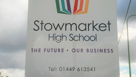 Stowmarket High School has closed to pupils in Year 7, 8 and 9 due to flooding but other year groups remain open Picture...