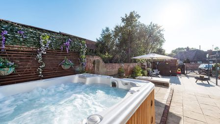 This four-bedroom house is for sale on Hadleigh high street at a guide price of ?575,000. Picture: Chapman Stickels