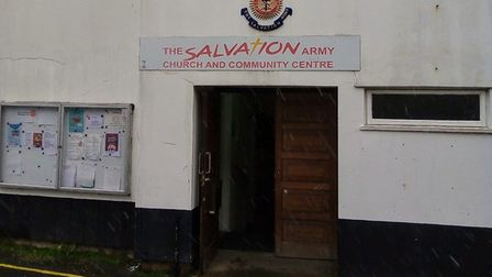 The Salvation Army building in Woodbridge was burgled almost a year to the day since it was last broken into Picture...