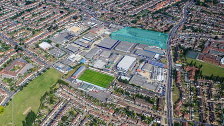 The location of the industrial site in Dagenham. Picture: Colliers International