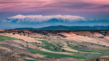 The Sierra mountains in Spain Picture: IVOR OTTLEY