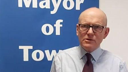 """Mayor John Biggs... """"It's important that we look out for vulnerable people this winter after such a difficult year.""""..."""