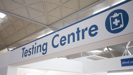 The new testing centre at Stansted airport Picture: BC PHOTOGRAPHY