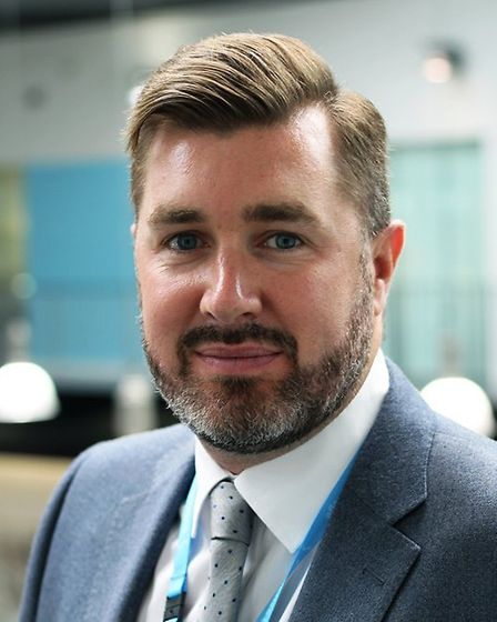 Deputy principal of Suffolk New College, Alan Pease, is pleased to hear of the extra measures. Picture: Suffolk New College