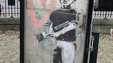Heart Boy by Banksy. Works by contemporary artists like Banksy Tracey Emin and The Connor Brothers feature in the Moments...