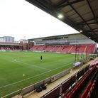 General view of the ground during Leyton Orient vs Harrogate Town, Sky Bet EFL League 2 Football at The Breyer Group...