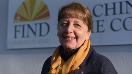 Maureen Reynel MBE, founder of FIND foodbank in Ipswich Picture: SARAH LUCY BROWN