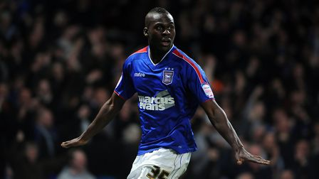 Plymouth striker Frank Nouble scored five goals in 60 outings for Ipswich Town. Photo: Archant