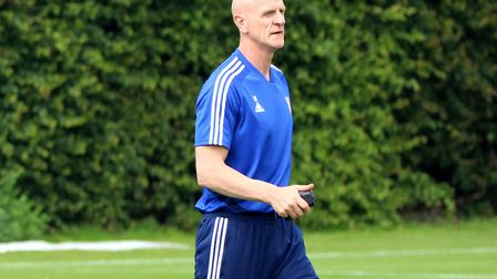 Town fitness coach Jim Henry has left the club. Picture: ROSS HALLS