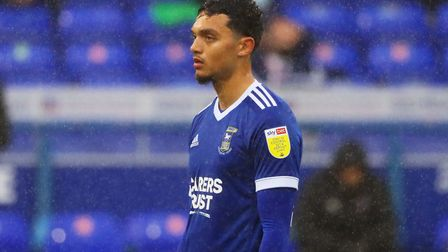 Andre Dozzell pictured during the Blues' 1-0 win over Crewe Picture: ROSS HALLS