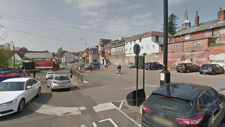 The assault reportedly happened in the Vineyard Street car park late at night in the centre of Colchester. Picture: GOOGLE...