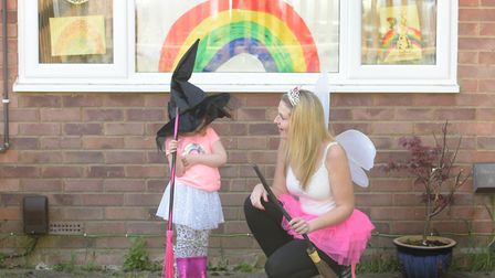 We have seen so much kindness and compassion this year. Crystal Stanley, from Ipswich, pictured here with daughter...