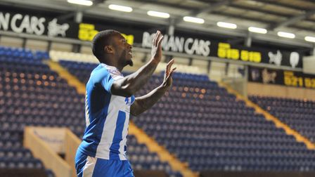 Callum Harriott tweeted about the incident, after fans booed Colchester United players who took the knee in a stand...