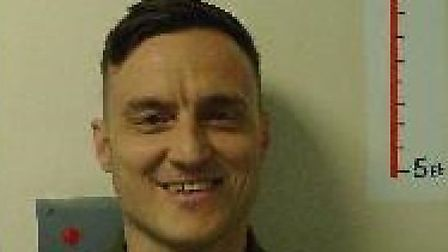 Prison absconder Scott Marchant has now been arrested by police Picture: SUFFOLK CONSTABULARY