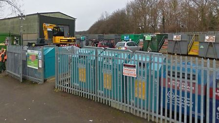 A new recycling centre could be built in Haverhill to replace the existing Chalkstone Way facility Picture: GOOGLE MAPS