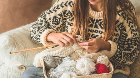 Chase away the winter blues by starting your own knitting journey. Picture: Getty Images