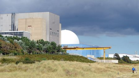 An object found on Sizewell beach is not a wartime mine Picture: SU ANDERSON