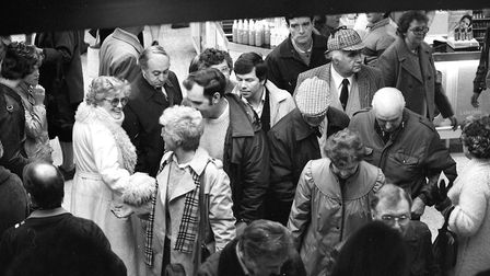 The sales at Debenhams from January 1985 Picture: ARCHANT ARCHIVE