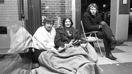 Queues for the sales at Debenhams in December 1972 Picture: ARCHANT ARCHIVE