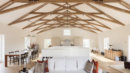 The converted baptist chapel, named Chapel House, in Earl Soham is up for sale for just under ?1million. Picture: THE...