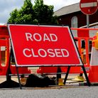 One lane of the A142 near Newmarket is closed Picture: ARCHANT