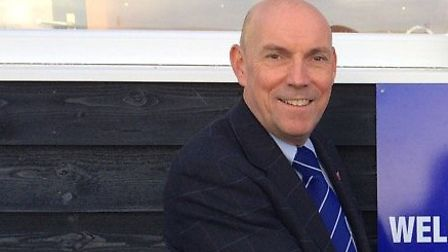 Leiston chairman Andy Crisp, who has revealed an option to re-start the season by splitting divisions in half
