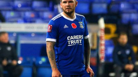 James Norwood pictured during the 3-2 defeat against Portsmouth in the FA Cup. The striker is set to appear in court today...