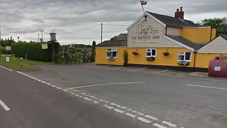 Plans for five holiday homes to go behind the popular Brewers Arms in Polstead have been submitted. Picture: GOOGLE MAPS