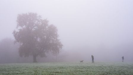 A yellow weather warning for fog has been issued by the Met Office Picture: SARAH LUCYBROWN
