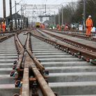 Network Rail engineers will be back at work at Colchester station over the Christmas and New Year period. Picture: NETWORK RAIL