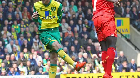 Norwich City striker Ricky Van Wolfswinkel is attracting interest from Benfica according to reports