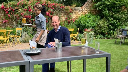 Prince William visited The Rose andCrown in July for theofficial relaunch ofthe hospitality industry following the...