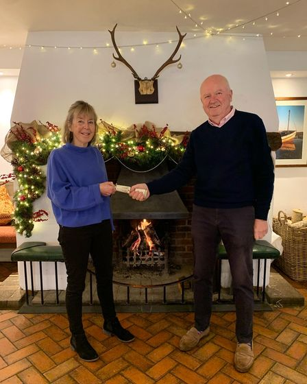 Jeanette and Anthony Goodrich, of The Rose and Crown in Snettisham, west Norfolk,have been named licencees of the year in...
