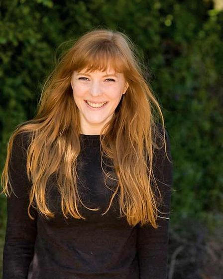 Emma Healey, author of Elizabeth is missing. Picture: Martin Figura
