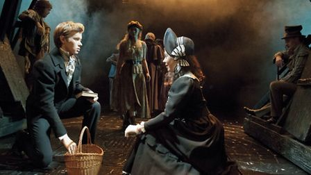 Les Miserables star Rob Houchen, from Lowestoft, will perform at half-time during Jamie's Game 2.