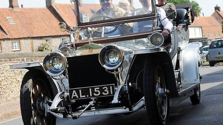 Scenes from the fifth Burnham Market Hoste Supercar and Classic Car Rally. Picture: Matthew Usher.