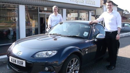 Sean Curtis has returned to Wrights Mazda in Norwich as dealer principal while Michelle Crouch has b