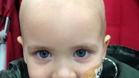 Two-year-old Noah Beschorner-Barker will have his final bout of chemotherapy and the family have hig